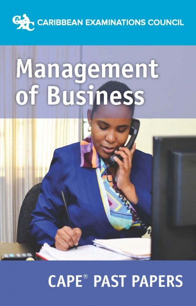 CAPE® Management of Business Past Papers eBook
