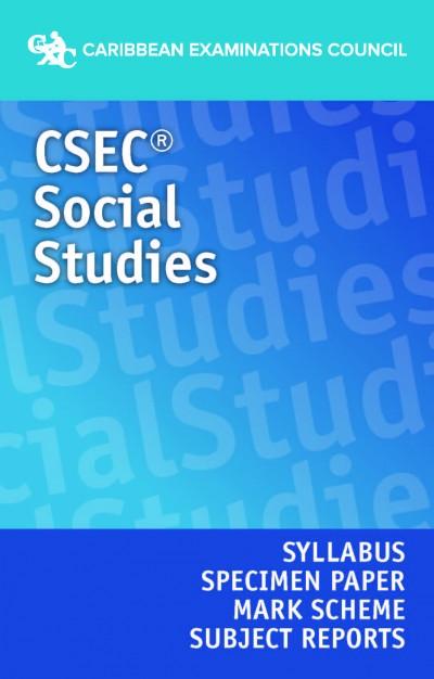 CSEC® Social Studies Syllabus, Specimen Paper, Mark Scheme and Subject Reports eBook