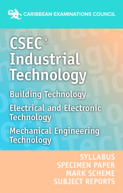 csec u00ae industrial technology syllabus  specimen paper  mark