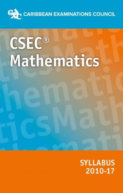 CSEC Mathematics syllabus 2010-2017 eBook