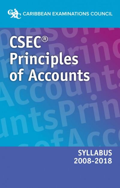 CSEC® Principles of Accounts Syllabus 2008–2018 eBook