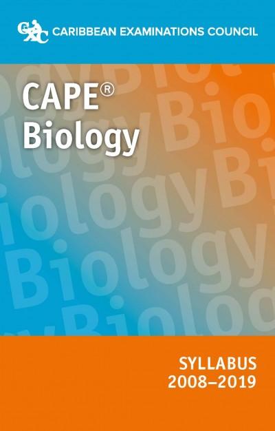 CAPE® Biology Syllabus 2008–2019 eBook