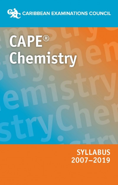 CAPE® Chemistry Syllabus 2007–2019 eBook