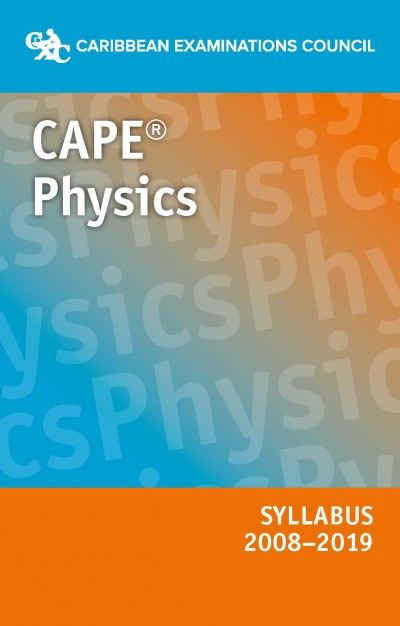 CAPE® Physics Syllabus 2008–2019 eBook