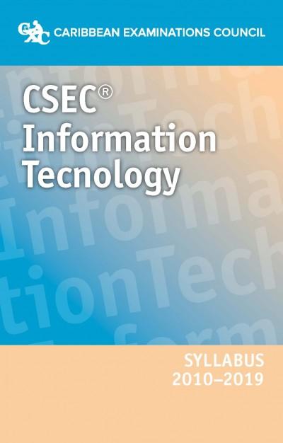CSEC® Information Technology Syllabus 2010–2019 eBook