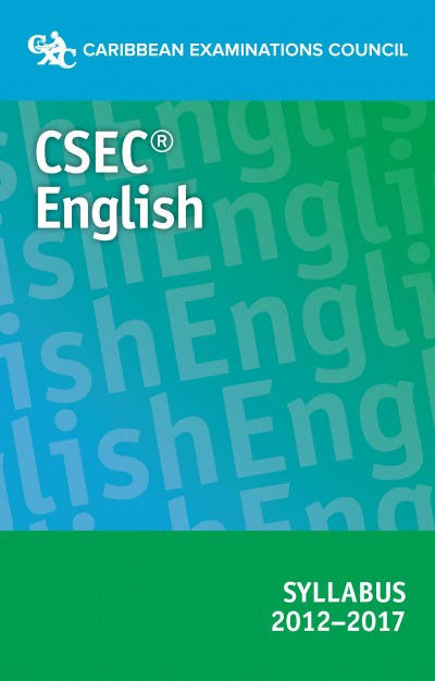 CSEC English syllabus 2012- 2017 eBook