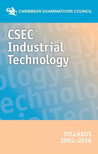 CSEC Industrial Technology syllabus  2002- 2016 eBook