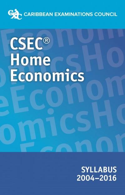 CSEC Home Economics syllabus  2004-2016 eBook