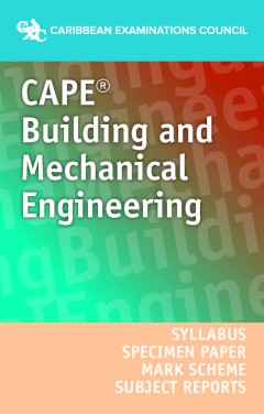 CAPE® Building and Mechanical Engineering Drawing Syllabus, Specimen Papers, Mark Schemes and Subject Reports ebook Adobe (AER)