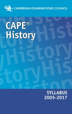 CAPE® History Syllabus 2005–2017 eBook