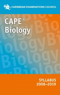 CAPE® Biology Syllabus 2008–2019 eBook