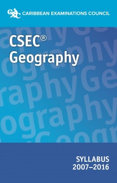 CSEC Geography syllabus  2007- 2016 eBook