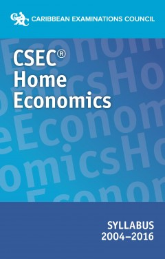 CSEC Home Economics syllabus  2004-2016 eBook